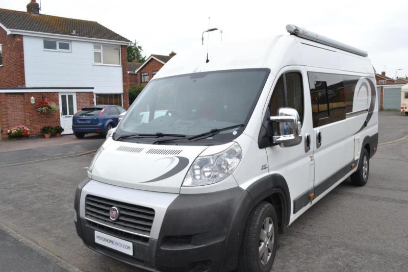 Fiat Ducato High Top Van Campervan Conversion For Sale 3 Berth Belts Awning