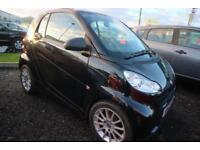 2012 61 SMART FORTWO 1.0 PASSION MHD 2D AUTO 71 BHP