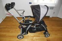 poussette pour 2 bébés