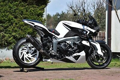 BMW K1300R and K1200R/sport 2-nd Generation RACING Belly Pan Spoiler