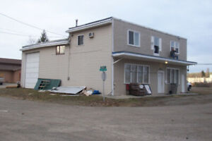 3 unit rental, with truck bay shop on 3 lots in central area