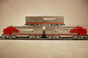 Lionel 11711 Santa Fe F-3 ABBBA w/7 Passenger Cars - Sealed/Mint