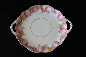 ROYAL ALBERT SERVING PLATE WITH HANDLES
