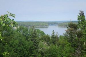 Waterfront lot for sale in Marble Mountain, Cape Breton