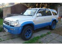 Toyota Hilux Surf + off road tires Dakar Desert Track