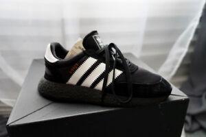 Black Adidas Iniki Boost (Size: US Men's 8)