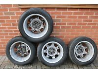 16 inch alloy wheels (4 of)