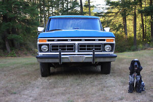VARIOUS 1973-79 FORD TRUCK PARTS (mechanical – body - interior)