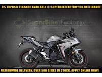 2016 16 YAMAHA R3 ABS 300CC 0% DEPOSIT FINANCE AVAILABLE