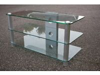 Glass TV cabinet - £20!