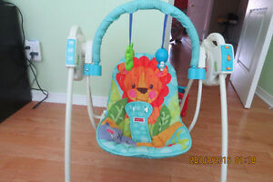 Swing ,Battery operated with songs!
