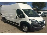 New Peugeot Boxer L4 H3 140ps High Roof Panel Van *Finance Available*