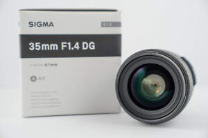 Used Sigma 35mm f/1.4 ART Lens For Nikon Mount Excellent Cond