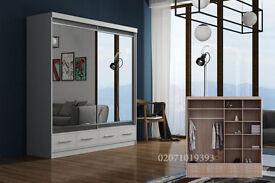 Marko Mirror Door Wardrobe--Amazing Offer