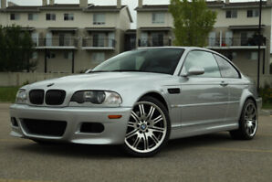 2002 BMW e46 M3 coupe. 6 speed manual. Low kms.