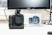 Canon 60D w. battery grip, Canon and Tokina Lenses & accessories