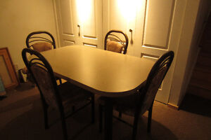 Dining Table 48X36 Plus 12'' Extension.Very clean, good quality.