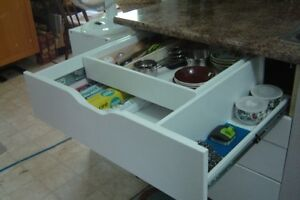 MAKE YOUR KITCHEN MORE USER FRENDLY--CUSTOM MADE ROLLING SHELVES Peterborough Peterborough Area image 5
