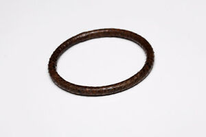 Petit bracelet vintage en cuir texture d'écailles