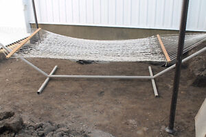 Double Hammock and Stand