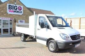 2011 MERCEDES SPRINTER 313 CDI MWB SINGLE CAB ALLOY DROPSIDE WITH TAIL LIFT DROP