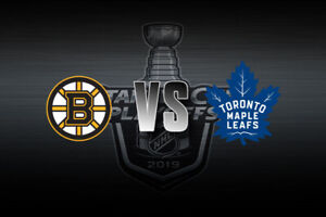 Maple Leafs vs Boston Bruins......Playoff Game 6..... 2 Tickets!
