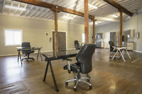 Open Concept Creative Office Space Downtown Kitchener