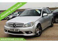 2008 MERCEDES-BENZ C350 SPORT ESTATE 3.5 V6 PETROL 270BHP FULL HISTORY + 1 OWNER