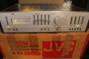 VINTAGE JVC A-X4 AMPLIFIER 60 WATTS!!!
