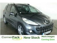 2012 PEUGEOT 207 HDI SW ALLURE ESTATE DIESEL