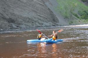 Exploration du fleuve en go top kayak