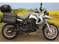 BMW F650GS **BMW Panniers, Givi Top Box, Heated Grips**