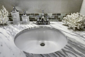 Bathroom Vanity Countertops - Granite/Quartz