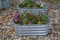 ****Raise Up Your Garden****   Galvanized Planters