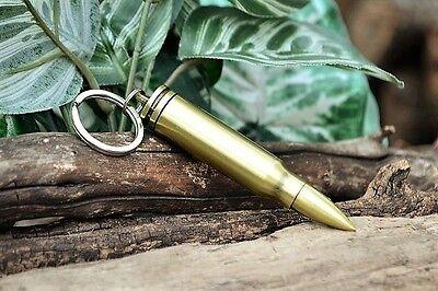 Bullet Permanent Match - Fire Starter Lighter - Camping Survival Gear Key Ring