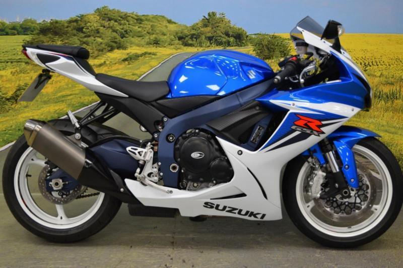 Suzuki GSXR 600 2012**BREMBO FRONT BRAKE, R&G BAR ENDS, R&G ENGINE ...
