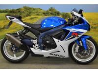Suzuki GSXR 600 2012**BREMBO FRONT BRAKE, R&G BAR ENDS, R&G ENGINE COVER**