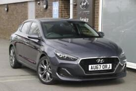 2018 Hyundai i30 1.4 T-GDi (140ps) Premium Petrol grey Manual