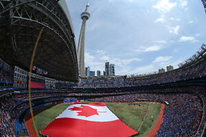 BLUE JAYS TICKETS – FOR CANADA DAY WEEKEND!!!!!!