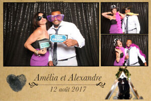 BEST PHOTOBOOTH IN TOWN  375$ /3hrs w/prints-70-5 STARS