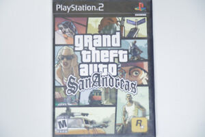 Play Station (2) - GRAND THEFT AUTO SAN ANDREAS