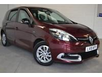 2015 15 RENAULT SCENIC 1.5 LIMITED ENERGY DCI S/S 5D 110 BHP DIESEL