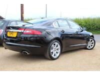 2010 60 JAGUAR XF 3.0 LUXURY V6 4D AUTO 238 BHP