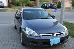 2007 Honda Accord SE Sedan - Great Condition, Accident Free