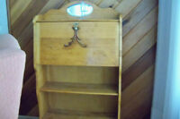 Antique writing desk and bookstand