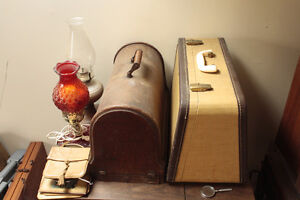 Vintage and Antique Sewing Machines and Type Writers