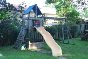 Free Rainbow playground to a good home