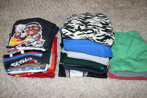 Large lot of boys size 14 (XL) clothes