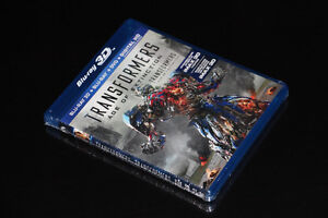 3D BLU RAY-TRANSFORMERS AGE OF EXTINCTION-3D COMBO-FILM/MOVIE