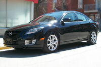 2010 Mazda 6 GT Manuelle 6 Speed Black on Black A/C etc.